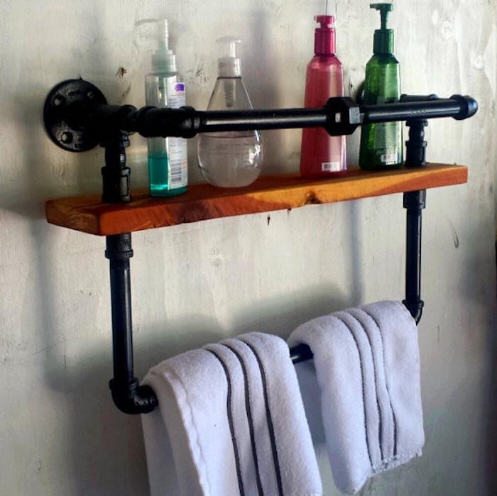ÉTAGÈRE Salle de bain – un bain d\'idée pour faire le bon ...