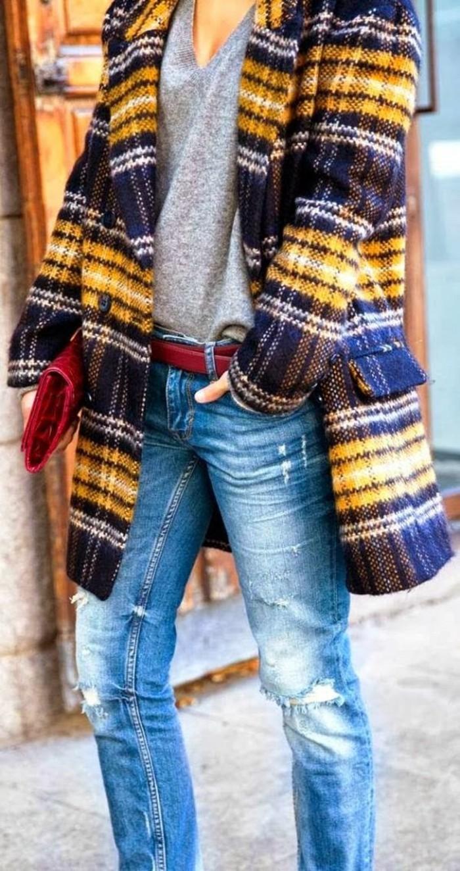 tendance-oversize-manteau-tweed-tenue-casual
