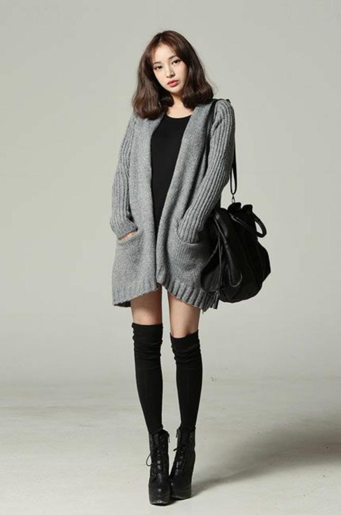 tenue-elegante-chaussettes-hautes-femmes-bottes-hauts-talons