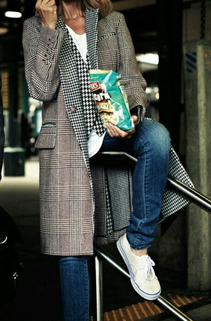tenue-decontractee-manteau-boyfriend-gris