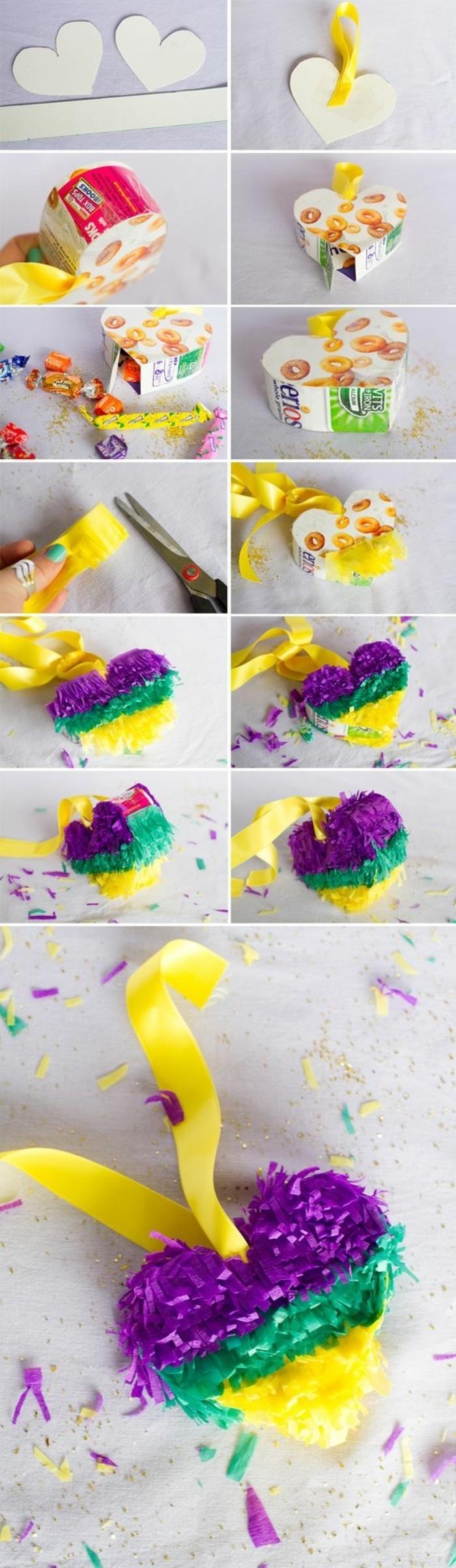 tuto-comment-fabriquer-une-pinata-en-forme-de-coeur-decoration-de-papier-crepon-multicolore-a-franges