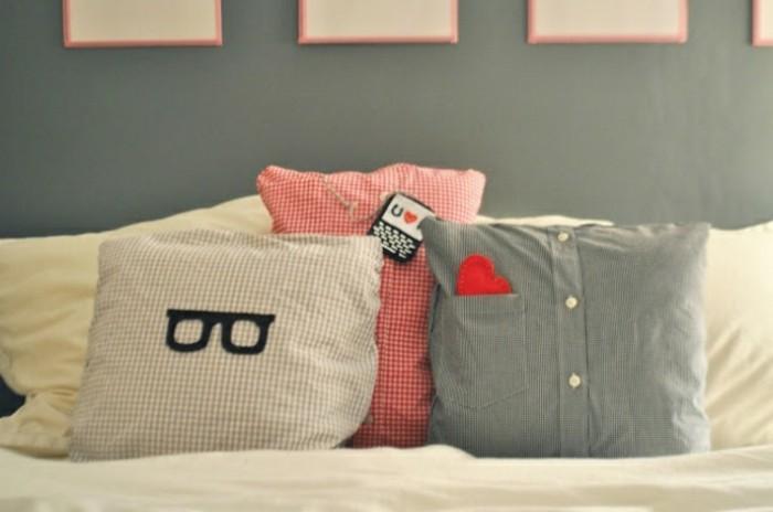 faire un coussin astuces et mod les fascinants en 60 photos. Black Bedroom Furniture Sets. Home Design Ideas