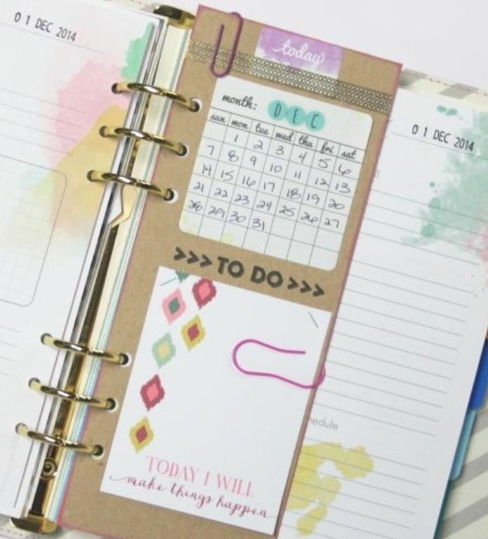 Complètement et trop extrême Comment organiser et customiser son agenda - 62 idées DIY &RZ_22