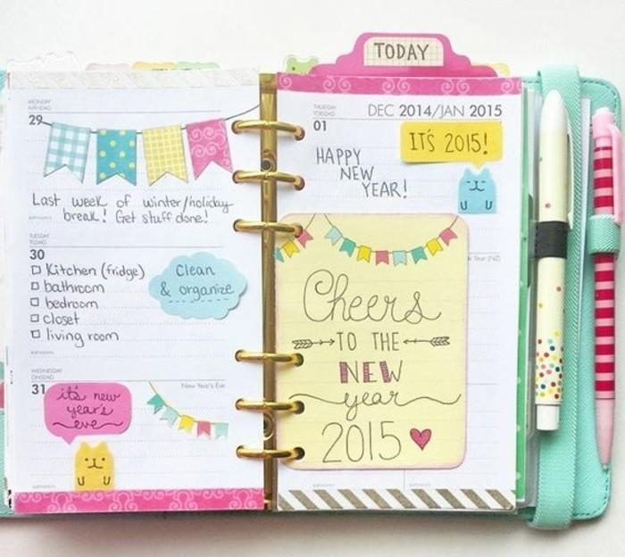 Comment organiser et customiser son agenda 62 id es diy - Customiser une photo ...