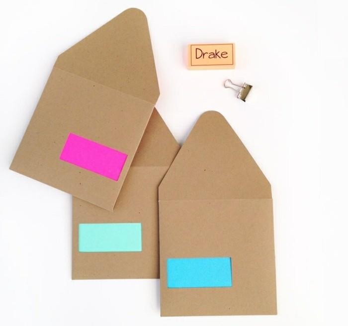 les meilleures id es pour fabriquer une enveloppe charmante soi m me. Black Bedroom Furniture Sets. Home Design Ideas
