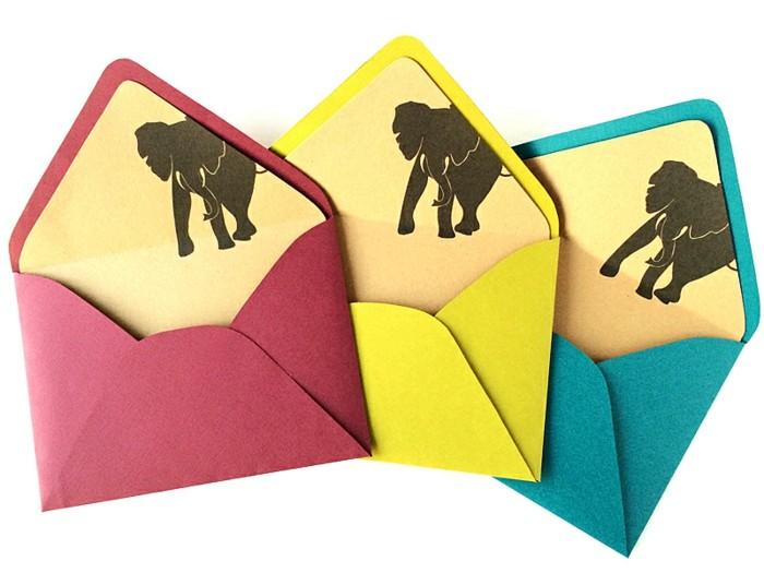 Connu Les meilleures idées pour fabriquer une enveloppe charmante soi-même EE92