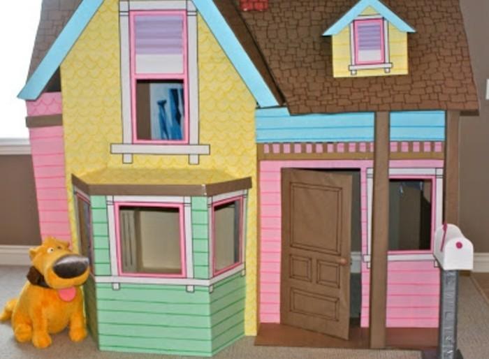 comment fabriquer une cabane en carton tuto et plusieurs mod les. Black Bedroom Furniture Sets. Home Design Ideas