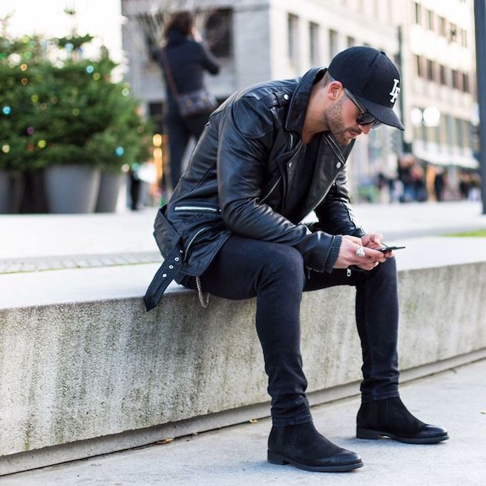 veste-cuir-homme-marron-perfecto-homme-simili-cuir-perfecto-noir-style-hipster