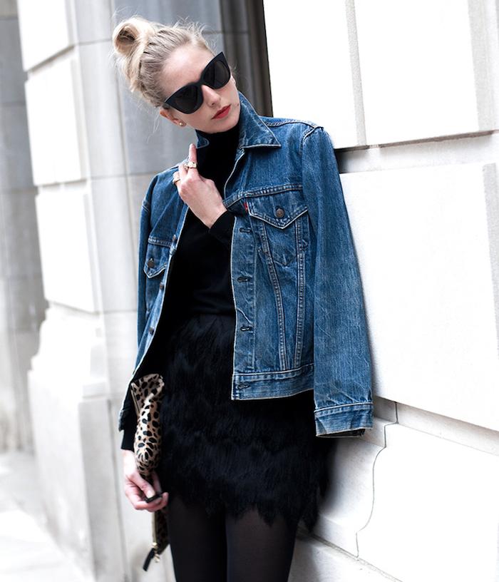 la veste en jean levis un classique vintage pour homme et femme. Black Bedroom Furniture Sets. Home Design Ideas