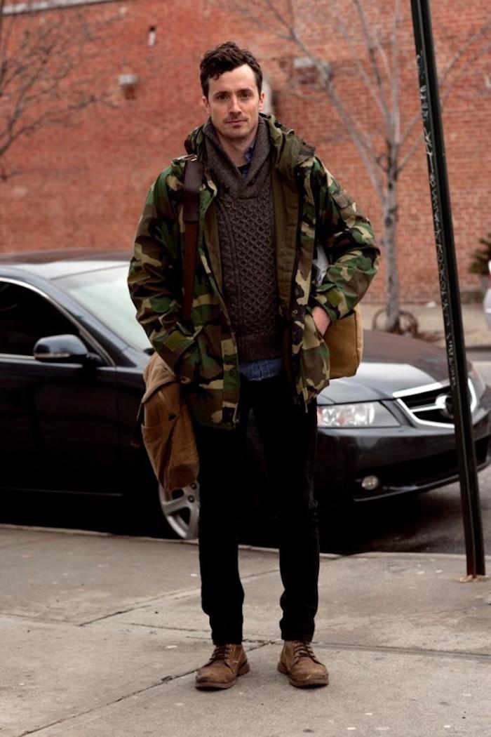 VESTE Militaire Homme u2013 le camouflage dans la lumiu00e8re - Archzine.fr