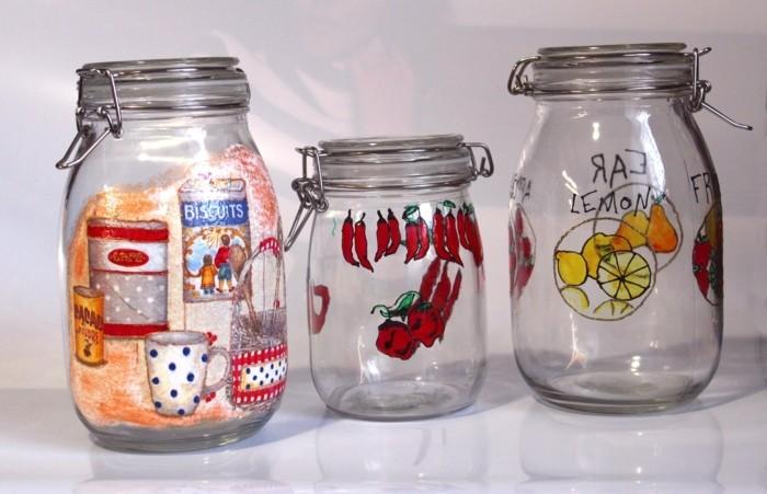 Bocaux verre cuisine cheap pots de confiture with bocaux - Pots de yaourts en verre avec couvercle ...