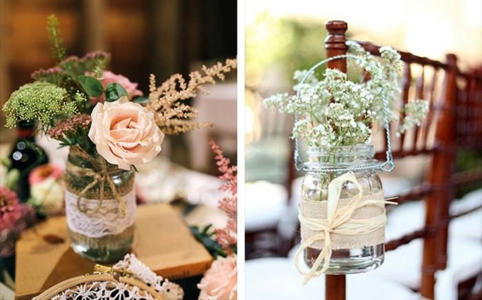 1que-faire-avec-des-pots-de-yaourt-en-verre-mariage-vase-décoration-couleurs-pastel-fleurs-séchés