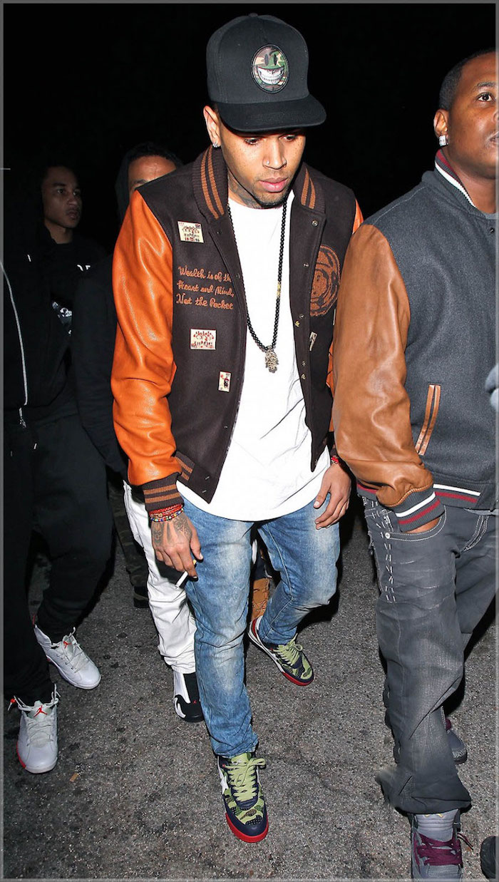 chris-brown-blouson-en-cuir-Billionaire Boys Club-teddy-homme