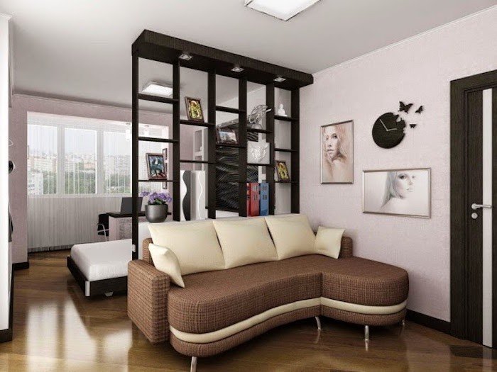 etagere pour separer une piece. Black Bedroom Furniture Sets. Home Design Ideas