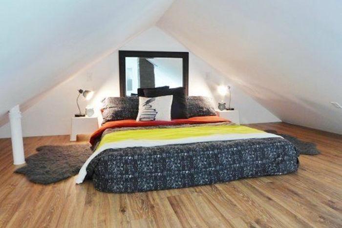 aménagement combles perdus chambre comble aménagé piece sous les toits