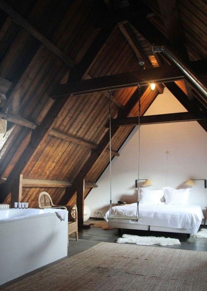 aménager des combles aménageables comble perdus chambre sous toit grenier maison idee