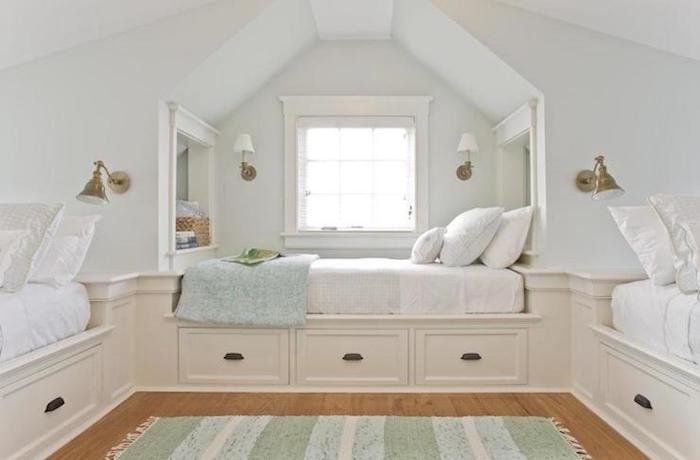 amenagement de combles chambre sous toit aménager piece toits