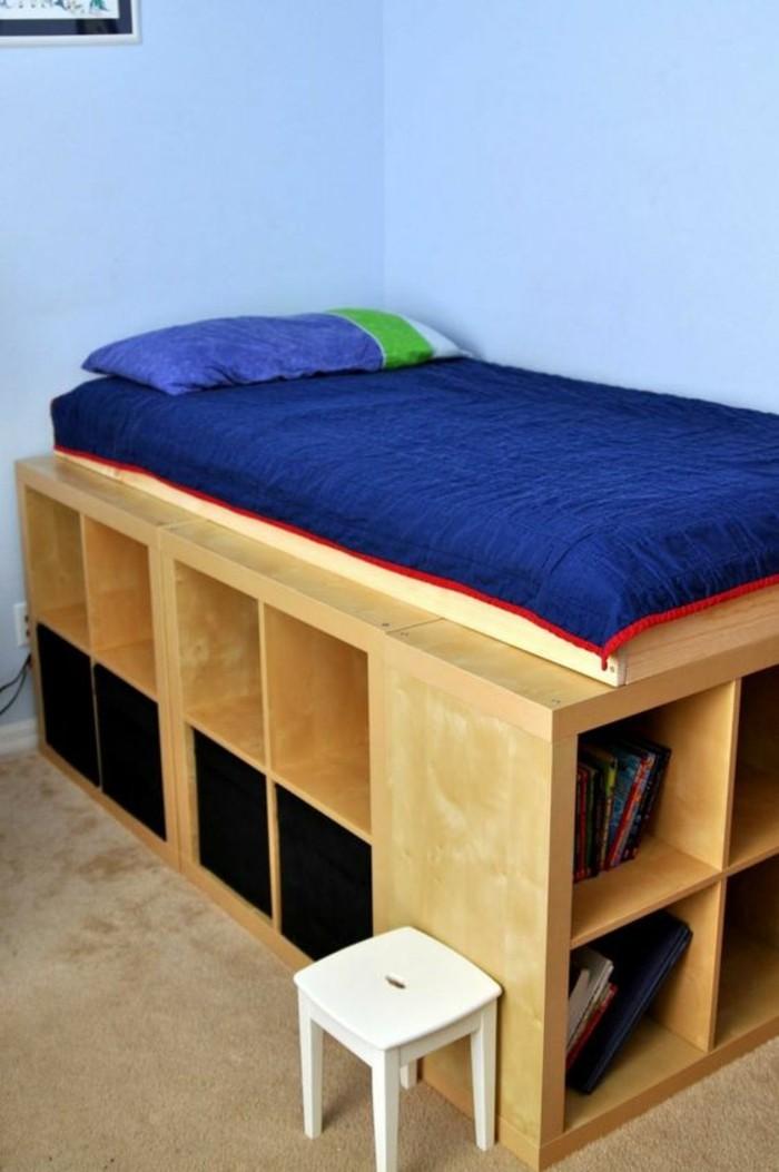 amenagement-petite-chambre-biblio-sous-le-lit