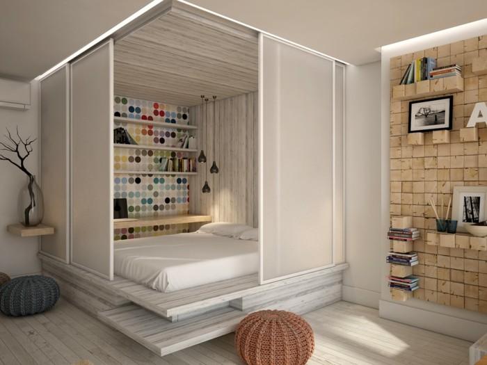 comment am nager un studio astuces en 58 photos. Black Bedroom Furniture Sets. Home Design Ideas