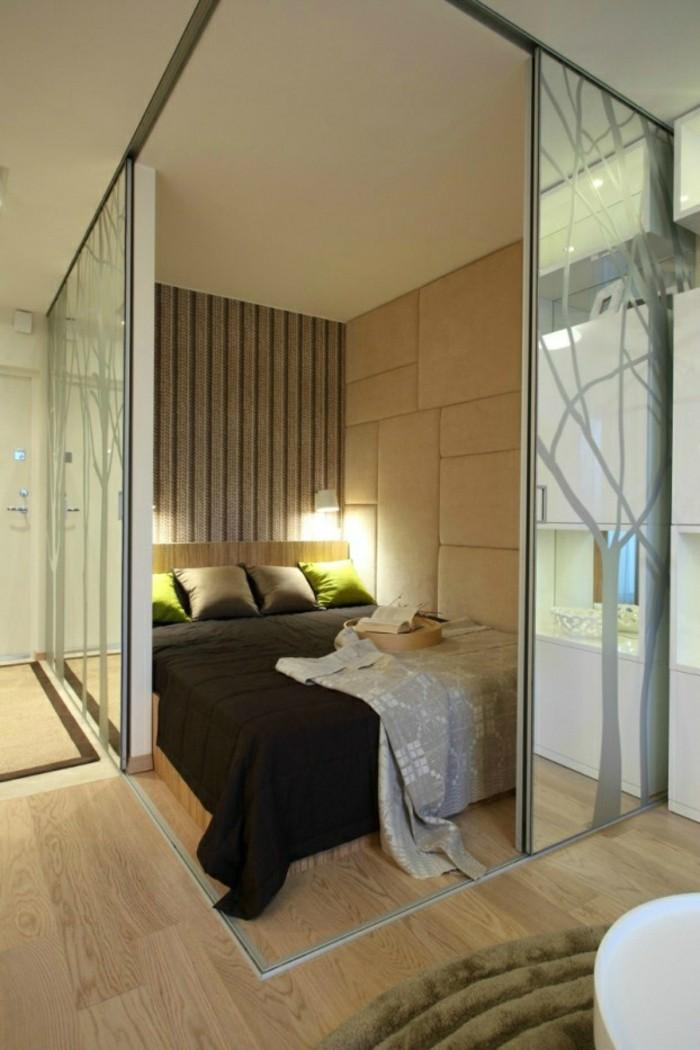 1001 id es comment am nager une petite chambre mini espaces for Amenager chambre dans salon