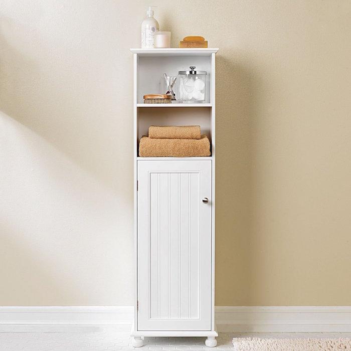 Colonne salle de bain pensez exploiter l 39 espace vertical - Placard salle de bain pas cher ...