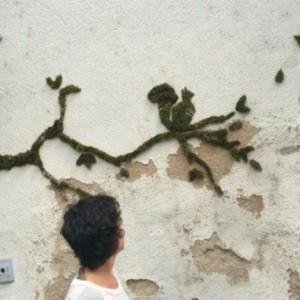 Graffiti en mousse ou l'art urbain dans l'esprit écologique - 58 créations originales