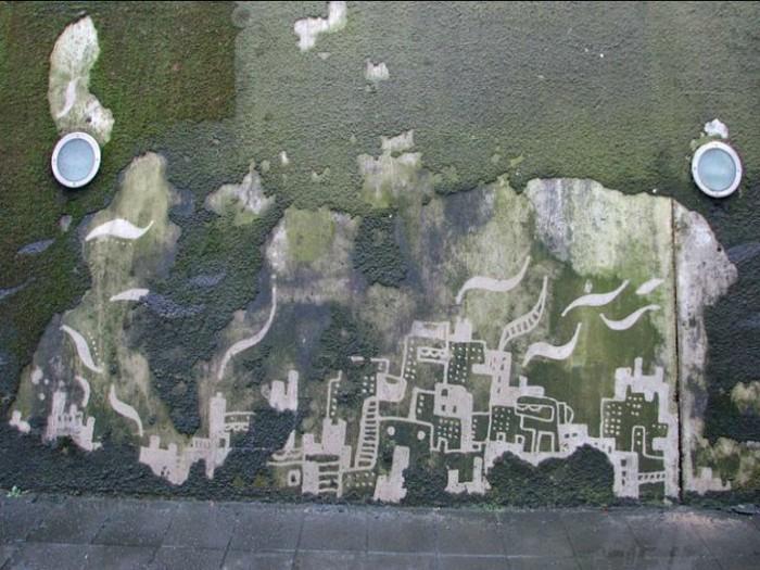 art-urbain-original-nouvelles-techniques-graffiti-sans-aerosol-ecologique-mousse-vegetale