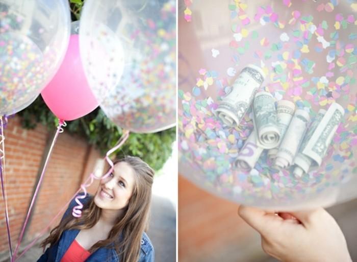 ballons-remplis-de-confettis-et-d-argent-idee-comment-offrir-de-l-argent-pour-un-anniversaire-cadeau-a-fabriquer-pour-sa-meilleure-amie