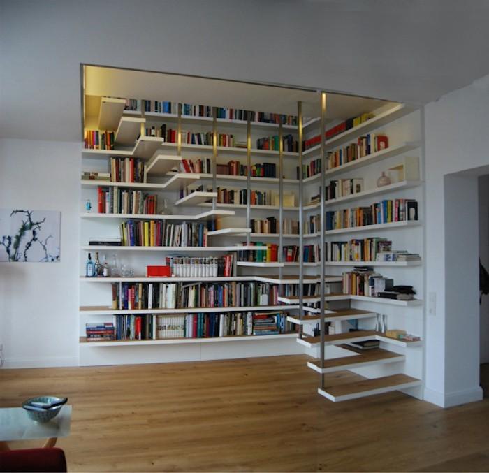 bibliotheque murale pour livre