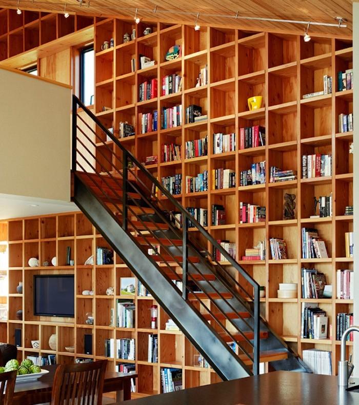 bibliotheque-escalier-meuble-etagere-bois-cube-conforama-alinea