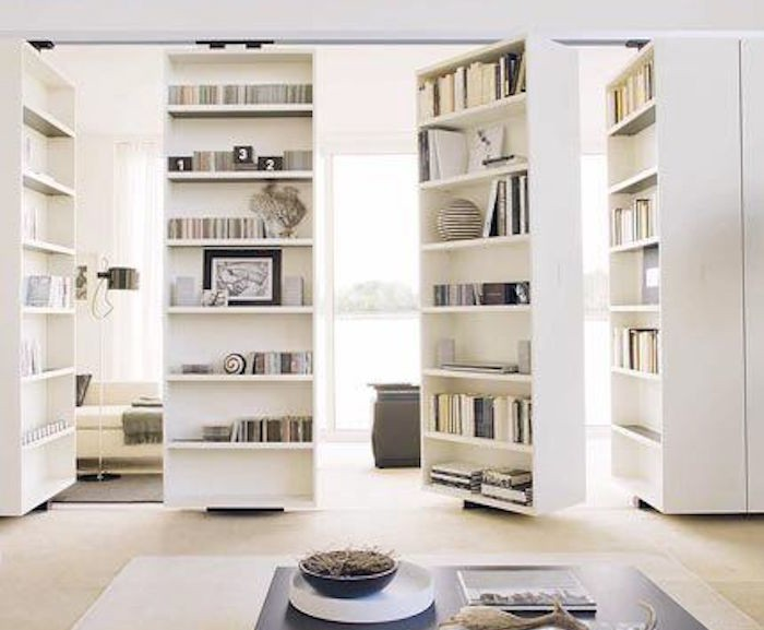 bibliotheque-amovible-cloison-coulissante-separation-etagere-roulante
