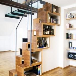 Bibliothèque escalier – Des marches et des livres pour s'élever