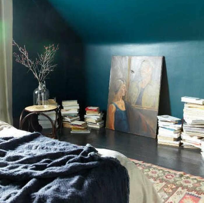 1001 id233es pour une chambre bleu canard p233trole et paon