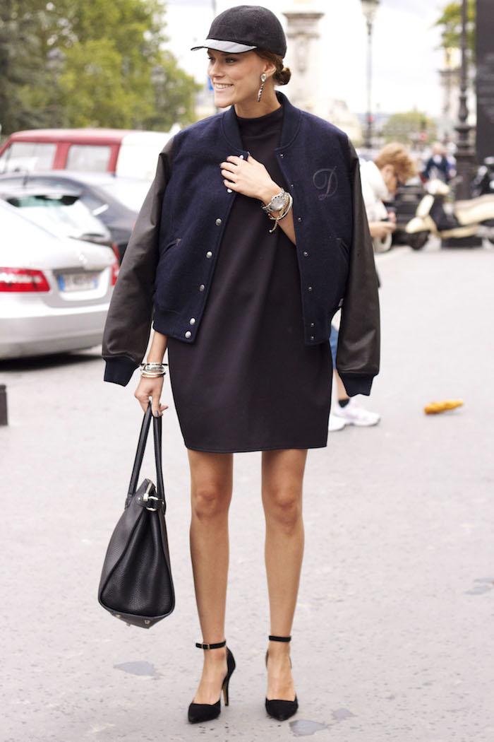 blouson american college veste teddy smith fille porter robe fashion paris