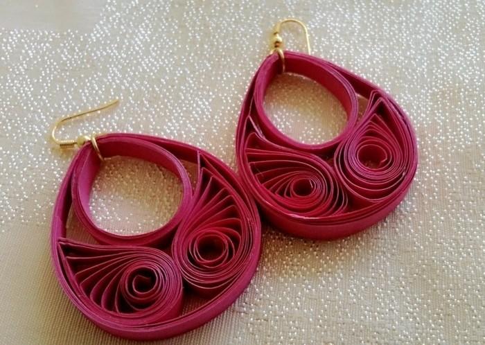 1001 inspirations pour fabriquer une boucle d 39 oreille diy - Faire des bijoux fantaisie soi meme ...