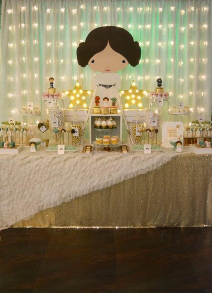 buffet-star-wars-pour-anniversaire-fille