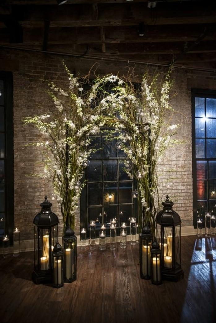 cérémonie-en-intérieur-arche-fleurie-mariage