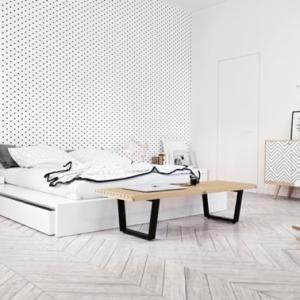 Pureté, simplicité, design - la chambre scandinave en 88 photos