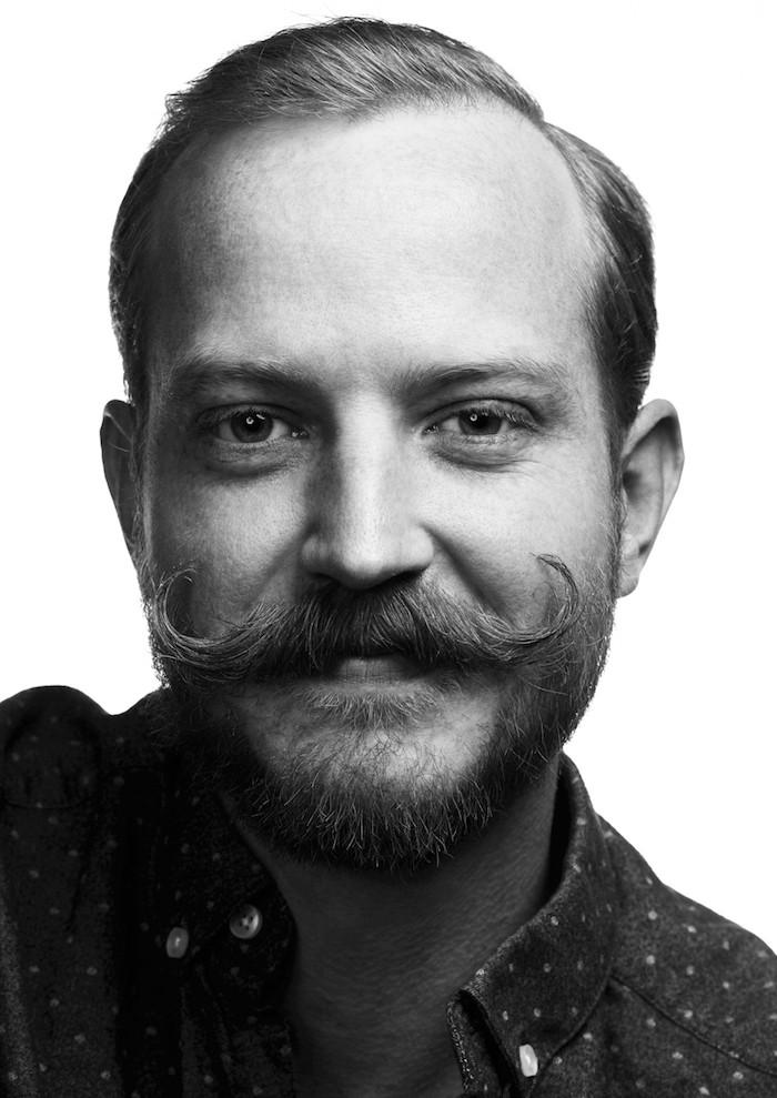 cire à moustache barbe homme cire entretenir tailler raser vintage bouclette