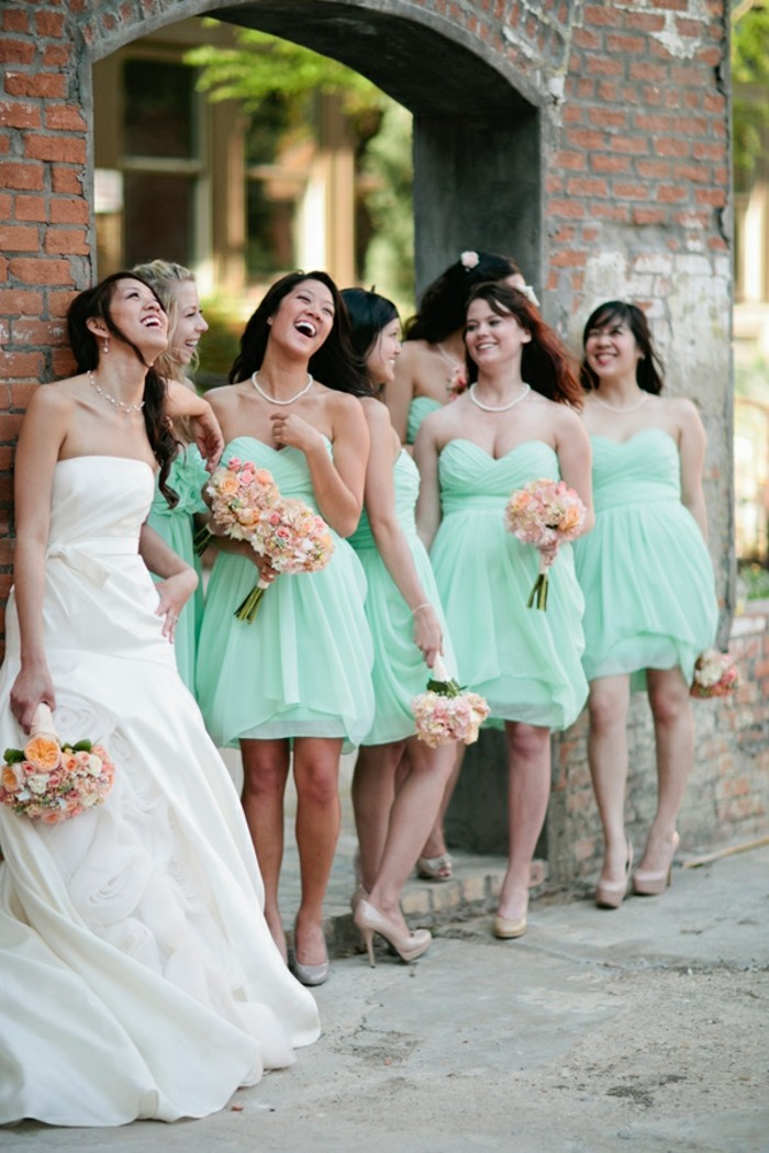 1001 id es pour la robe pastel pour mariage trouvez les for Robes de mariage abordables