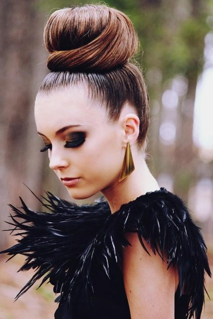 coiffure-elegante-chignon-donut-coiffure-cheveux-longs