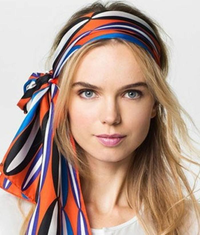 coiffure-foulard-joli-noeud-de-foulard-accessoire-de-cheveux