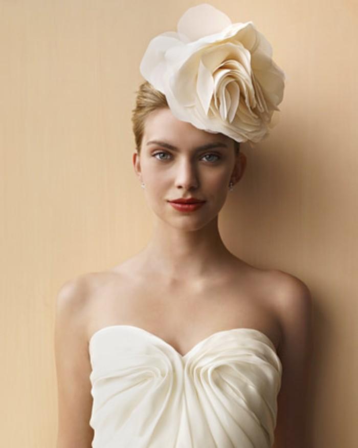 1001 id es comment faire des fleurs en tissu impressionnantes - Coiffure mariage a faire sois meme ...