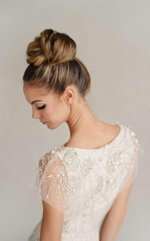 coiffure,mariage,chignon,bun,elegant,comment,faire,un,