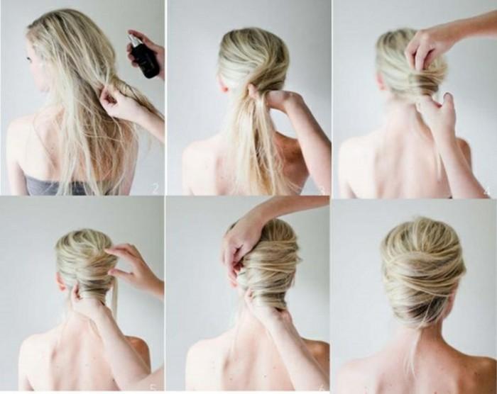 coiffure-mariage-facile-chignon-coiffe-decoiffe-facile-cool-idee-mariage-coiffure