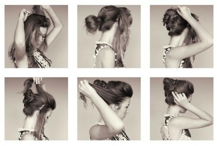 coiffure-mariage-facile-chignon-coiffe-decoiffe-facile-photo-noir-et-blanc
