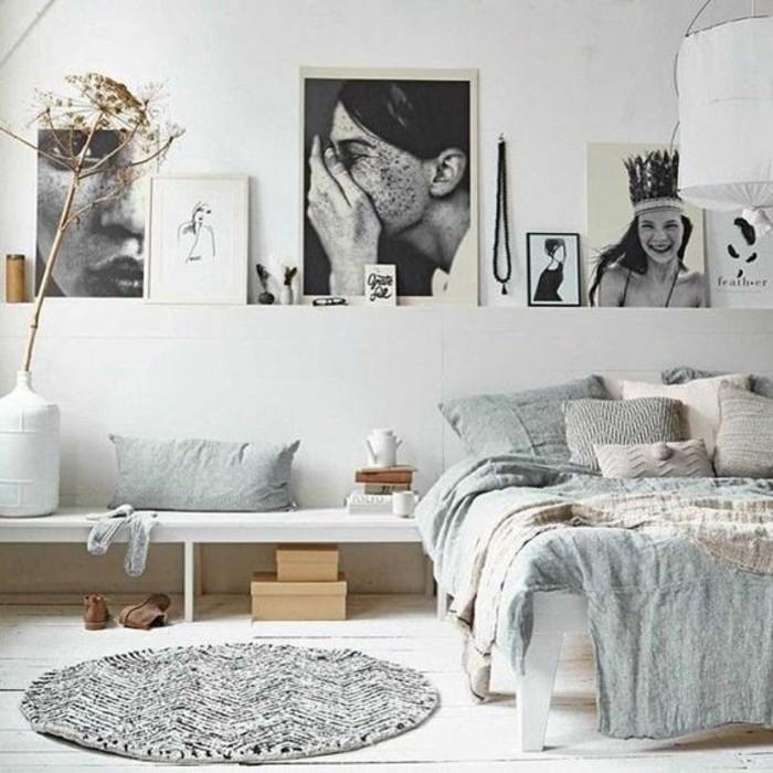 comment-aménager-une-petite-chambre-avec-prédominance-du-blanc