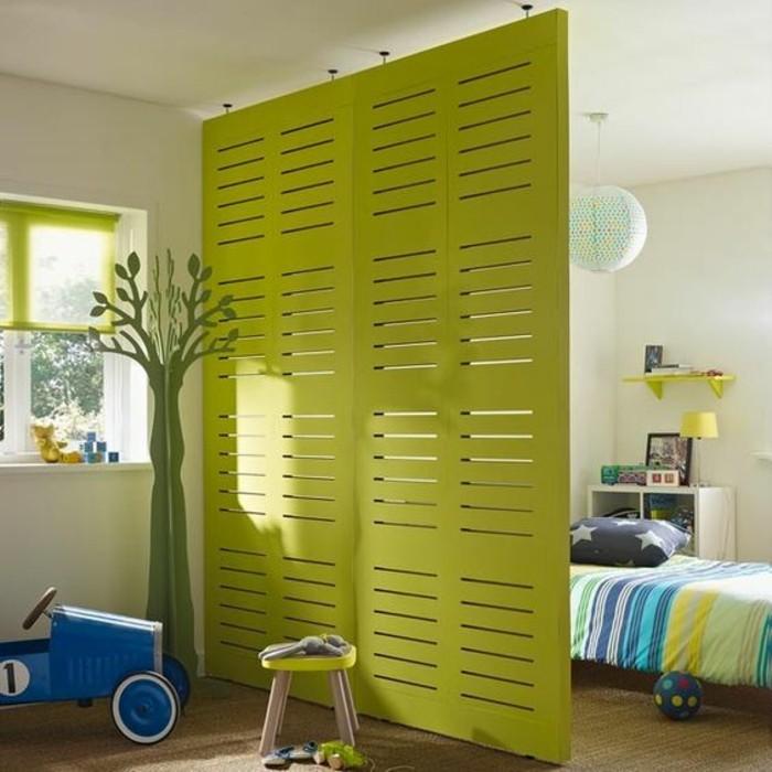 comment-aménager-une-petite-chambre-enfant-avec-separateur-d-espace