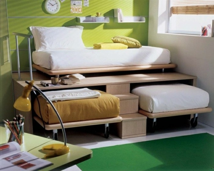 1001 id es comment am nager une petite chambre mini espaces. Black Bedroom Furniture Sets. Home Design Ideas