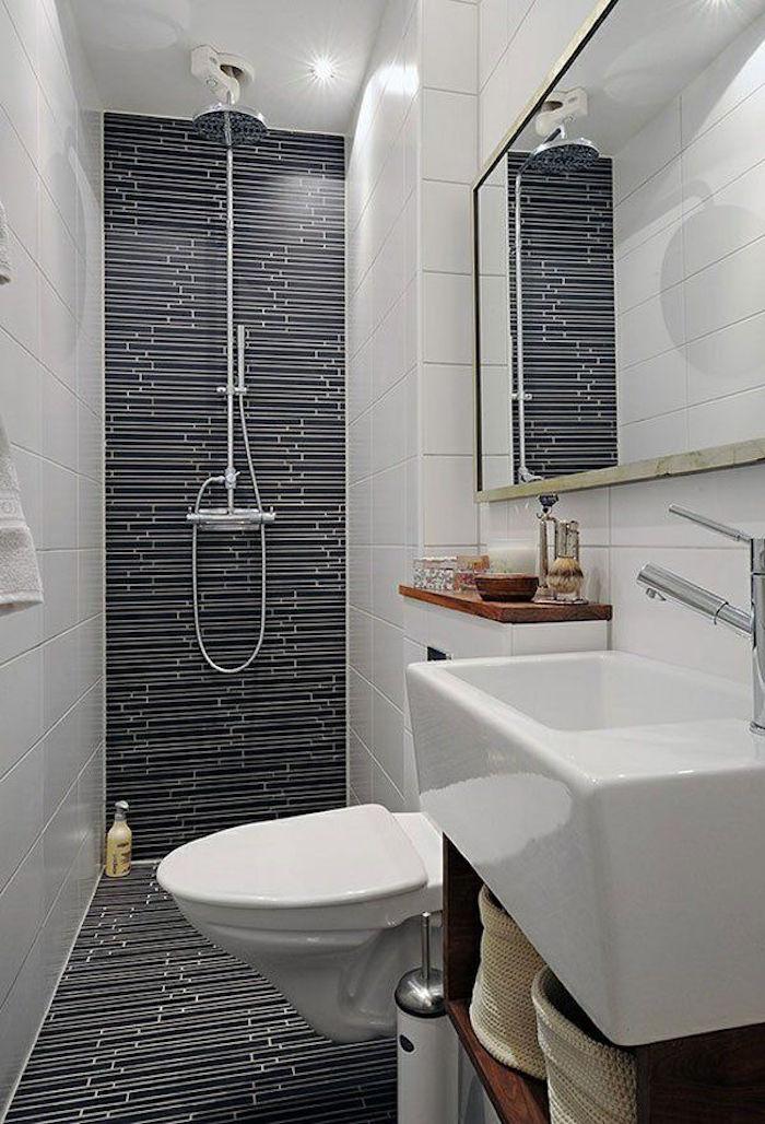 Salle de bain 5m2 en longueur